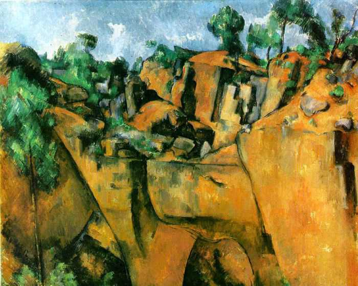 Bibemus Quarry, 1895 (oil on canvas)