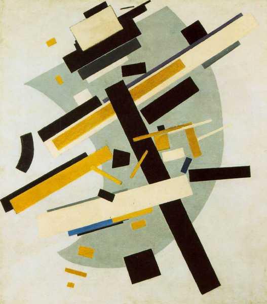Kazimir Malevich - Suprematism, 1915