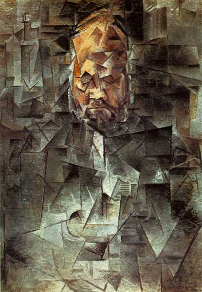 Pablo Picasso - Portrait of Ambroise Vollard, 1915