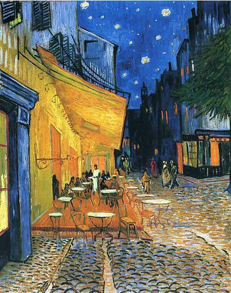 Vincent Van Gogh - Café Terrace at Night, 1888