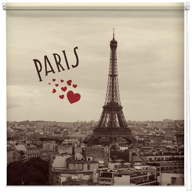 Vintage Paris Postcard Printed Blind Picture Printed