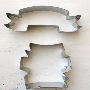 Arty McGoo's Banner Cookie Cutters