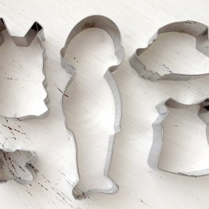Arty McGoo's Paper Doll Cookie Cutter Set