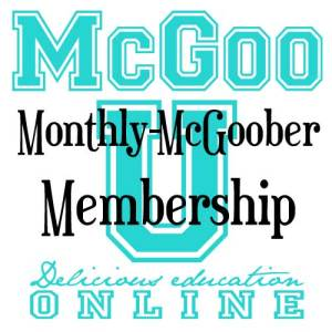 Monthly-McGoober