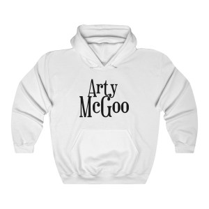 Arty McGoo Hooded Sweatshirt