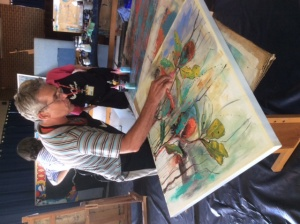 Loosen Up – Creative Acrylics with Chris Postle!