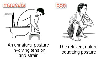 La bonne position
