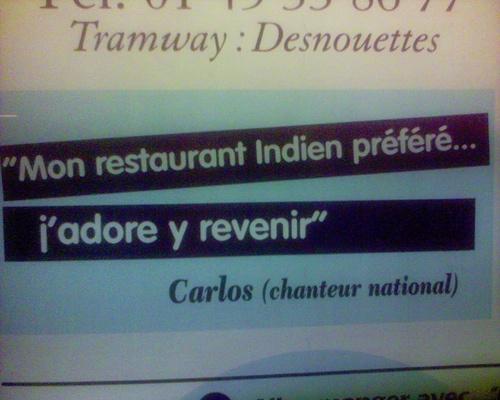 Carlos adore