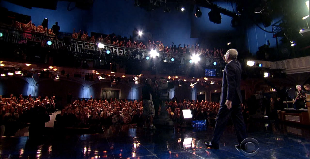 David Letterman s'en va