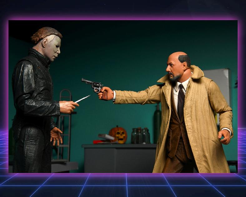 Artz Music & Photography: Neca 'Halloween II' Myers and Loomis Figures &emdash;