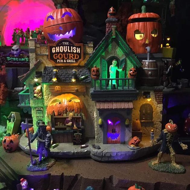 Michaels 2020 Halloween Village Lemax Previews 2020 Spooky Town Halloween Village | Halloween