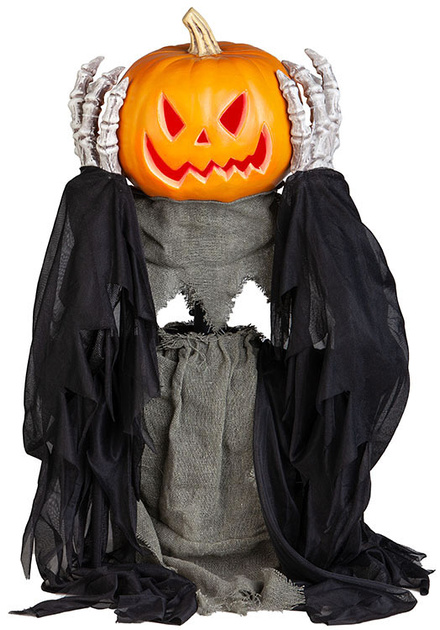 2.5ft Life Size Head-Lifting Pumpkin Ghoul