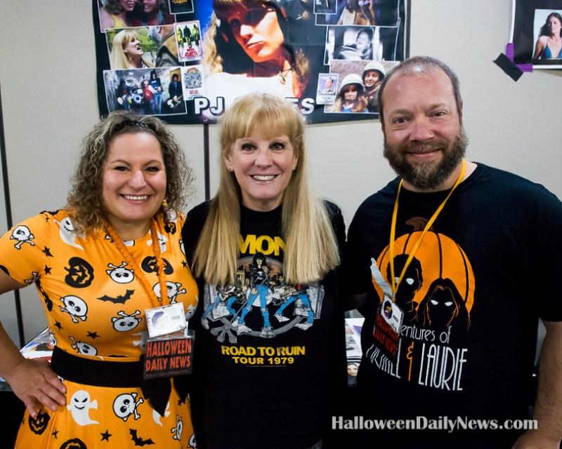 P.J. Soles with HDN's Sue and Matt Artz