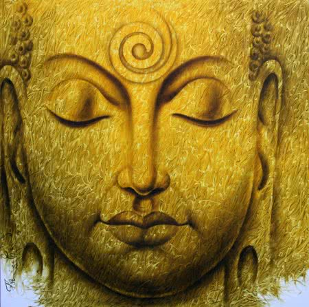 15 Beautiful Buddha Paintings for Your Living Room