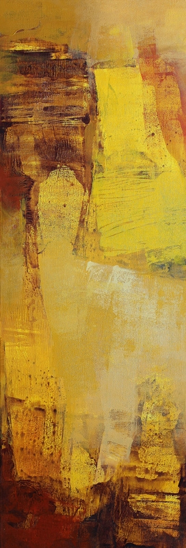 canvas prints for living room shop furniture yellow vertical abstract ii by artist siddhesh rane ...