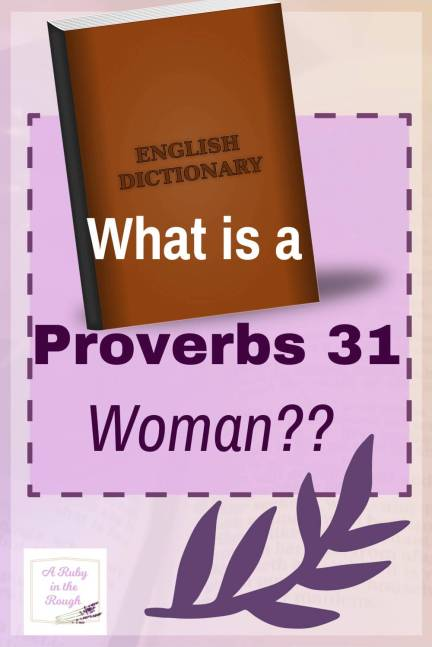 virtuous woman meaning