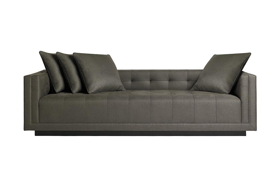 a rudin sofa 2859 semi circle couch jeff andrews furniture los angeles based interior designer 2860