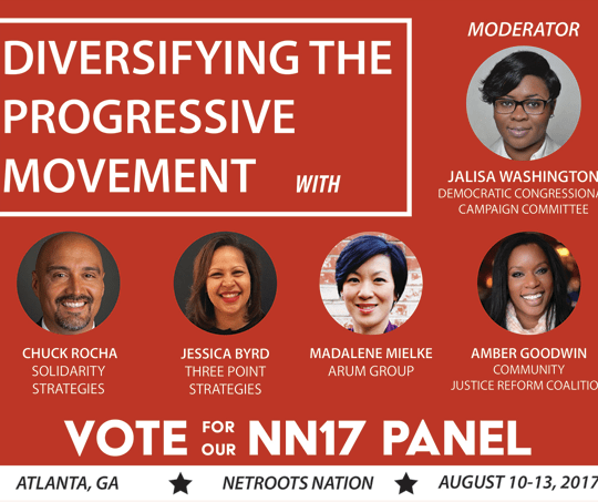 Vote for Our Netroots Nation 2017 Panel