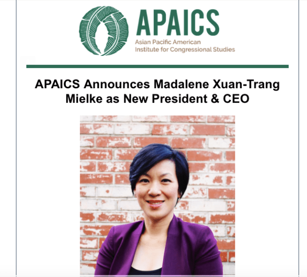 APAICS announcement