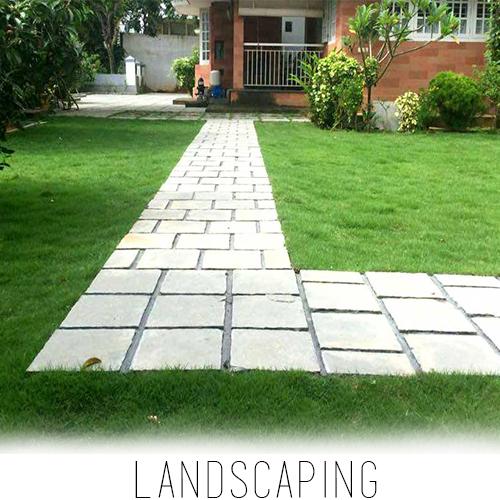 landscaping service company garden