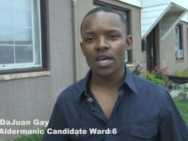 De'Juan Gay has raised more than $10,000 dollars to deliver air conditioners to residents in Eastport Terrace