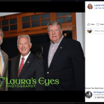 Andy Harris, Michael Peroutka and Ed Reilly at Roy Moore Fundraiser