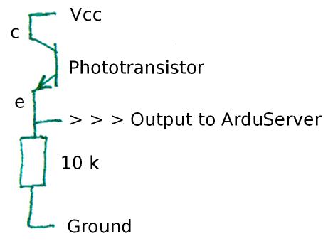 Light Sensors: Using them with microprocessors- ec1senslight