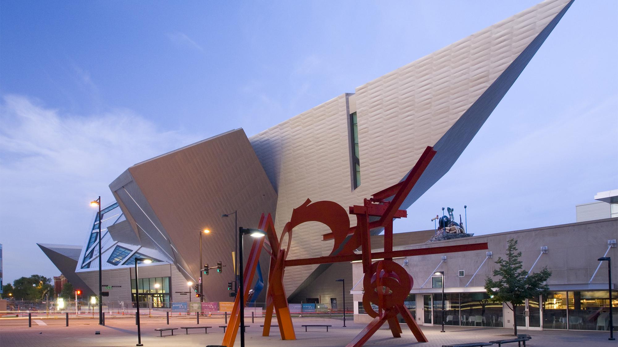 3D Design for Denver Art Museum  Arup