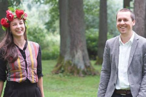 Ylva Stenberg och Ernst Erlandson. Foto: Timmy Gasslander.