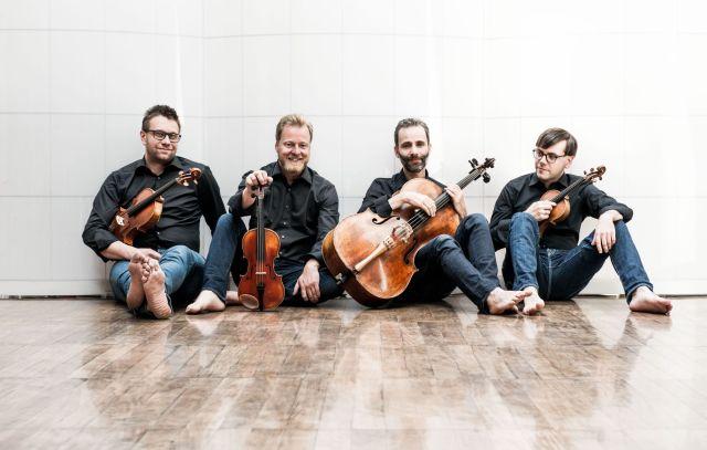 Zemlinskykvartetten. Foto: Ilona Sochorová.