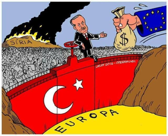 Δημοκράτης  Ερντογάν προς Ευρώπη  Αν ανοίξουμε τις πύλες, δεν θα βρίσκετε τρύπα να κρυφτείτε