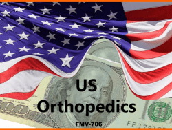 KOL FMV RATES US ORTHOPEDICS