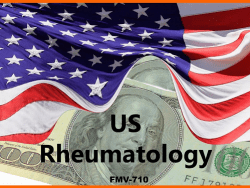 KOL FMV RATES US RHEUMATOLOGY