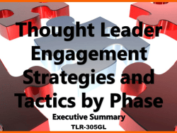 Thought Leader Engagement Tactics by Phase (ES)
