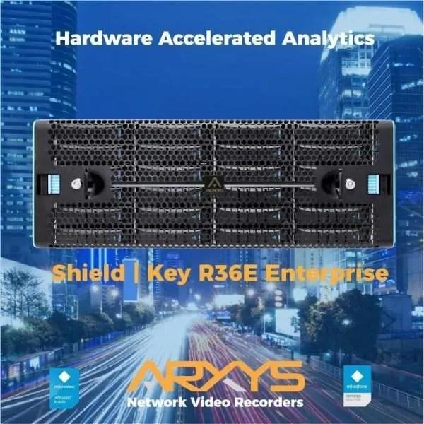 Arxys Shield | Key R36E NVR | Arxys