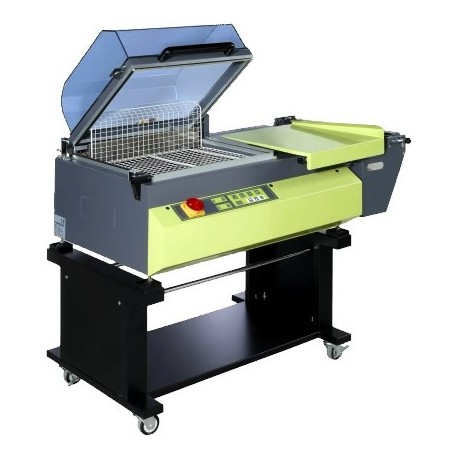 HOOD SHRINK WRAPPER Practical and efficient solution for the packaging of finished products.