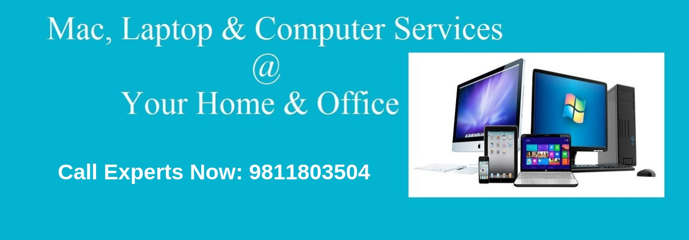 Laptop, Computer repair service at home in North Delhi