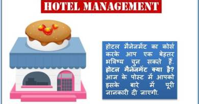 hotel management kya hai