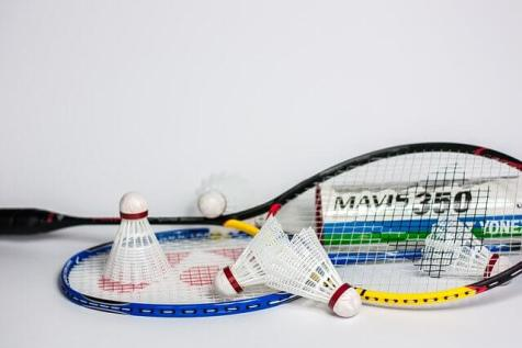 about badminton in hindi