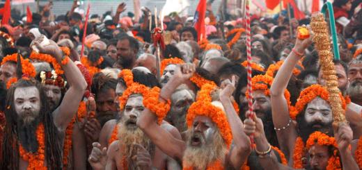 Kumbha mela in India