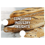 Consumer industry insights jigsaw piece