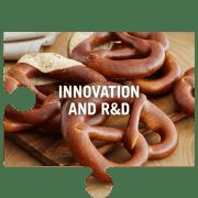 Innovation and R&D jigsaw piece