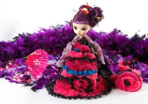 Pullip Lady Dancer in Beautiful Flower Charming Dream 2009