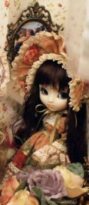 prototypes de 2010 Pullip Flower Lolita Brown Hair