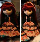 Prototype Pullip Color Lolita Red Hair 2009