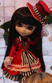 Prototype Pullip Red Black White 2009