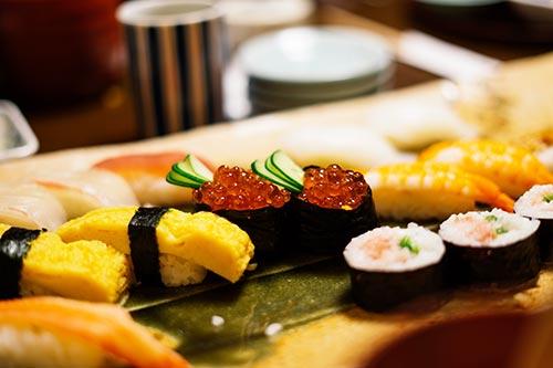 Asian food by bady qb