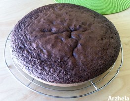 Gâteau au chocolat noisettes