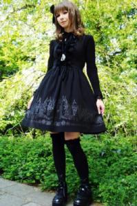 Elegant Gothic Lolita style
