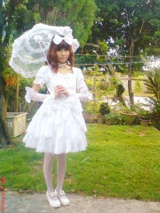 Shiro Lolita style